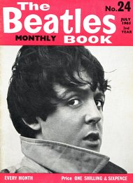 The Beatles Monthly Book N_24(July 1965)