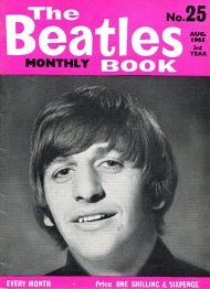 The Beatles Monthly Book N_25(August 1965)