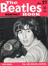 The Beatles Monthly Book N_27(October 1965)