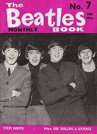 The Beatles Monthly Book N_7(February 1964)